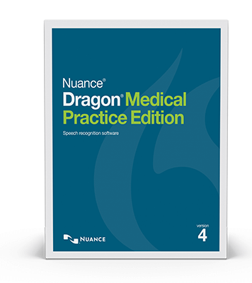 Nuance Dragon Medical Practice Edition boxshot
